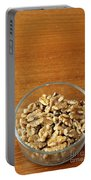 Bowl Of Shelled Walnuts Portable Battery Charger