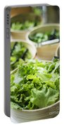 Bowls Of Salad Keaves Portable Battery Charger