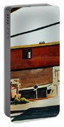 Box Factory Portable Battery Charger by Edward Hopper