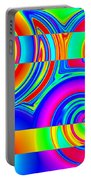 Boxed Rainbow Swirls 1 Portable Battery Charger