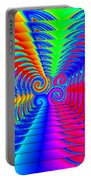 Boxed Rainbow Swirls 2 Portable Battery Charger