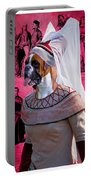Boxer Art Canvas Print Portable Battery Charger