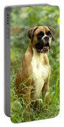 Boxer Dog Portable Battery Charger