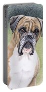 Boxer Portrait Portable Battery Charger
