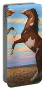Boxing Horses Portable Battery Charger