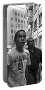 Boy In The Crowd - Sao Paulo Portable Battery Charger