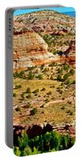 Boynton Overlook On Highway 12 In Grand Staircase-escalante National Monument-utah Portable Battery Charger