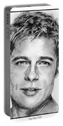 Brad Pitt In 2006 Portable Battery Charger