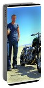 Actor - Brad Pitt With Shinya Kimura Portable Battery Charger