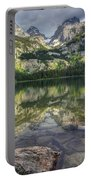 Bradley Lake Reflection - Grand Teton National Park Portable Battery Charger