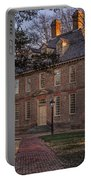 Brafferton At William And Mary College Portable Battery Charger