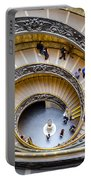 Bramante Spiral Staircase In Vatican City Portable Battery Charger
