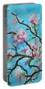 Branches In Bloom Portable Battery Charger