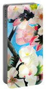 Branches Of Almond Tree Portable Battery Charger