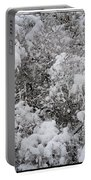 Branches Of Snow Portable Battery Charger