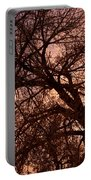 Branching Out At Sunset Portable Battery Charger