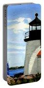 Brant Point Lighthouse Nantucket Massachusetts Portable Battery Charger