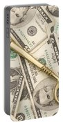 Brass Key To Success Money Portable Battery Charger