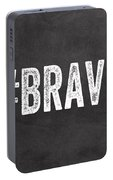 Brave Card- Greeting Card Portable Battery Charger