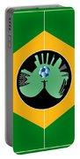 Brazilian Football Field Portable Battery Charger