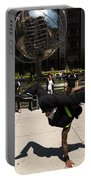 Break Dancer  Columbus Circle Portable Battery Charger