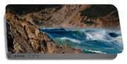 Breakers At Pt Reyes Portable Battery Charger