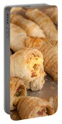 Breakfast Croissant Portable Battery Charger