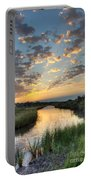 Breaking Dawn Along The Bayou Portable Battery Charger