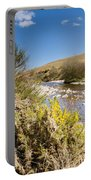 Breamish Valley In Spring Portable Battery Charger