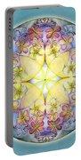 Breath Of Life Mandala Portable Battery Charger
