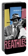 Breathless Movie Poster Portable Battery Charger