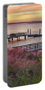 Breezy Pampas Grass Portable Battery Charger