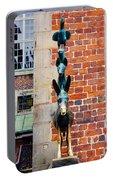 Bremen Musicians Statue Portable Battery Charger