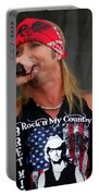 Bret Michaels In Philly Portable Battery Charger