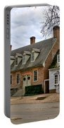 Brick House Tavern In Williamsburg Portable Battery Charger