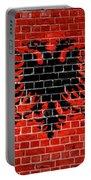 Brick Wall Albania Portable Battery Charger
