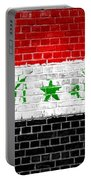 Brick Wall Iraq Portable Battery Charger