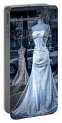 Bridal Dress Window Display In Ottawa Ontario Portable Battery Charger
