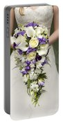 Bride And Wedding Bouquet Portable Battery Charger