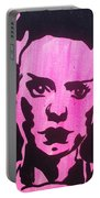 Bride Of Frankenstein Pink Portable Battery Charger
