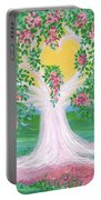 Bride's Tree Pink Portable Battery Charger