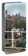 Bridge Across Canal - Amsterdam Portable Battery Charger