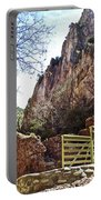 Bridge Across The Whitewater River On Whitewater Catwalk National Recreation Trail Near Glenwood-new Portable Battery Charger