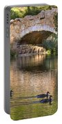 Bridge At Stow Lake Portable Battery Charger