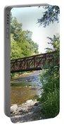 Bridge At Waubonsie Creek Portable Battery Charger