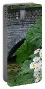 Stone Bridge Daisies Portable Battery Charger