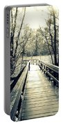 Bridge In The Wood Portable Battery Charger