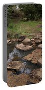 Bridge Of Rocks Across The River Portable Battery Charger