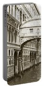 Bridge Of Sighs  Venice Italy Portable Battery Charger