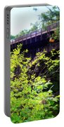 Bridge Over Ausable Chasm Portable Battery Charger